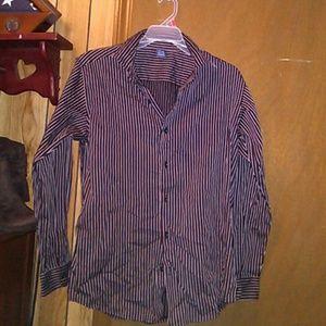 Other - Stripe button down shirt
